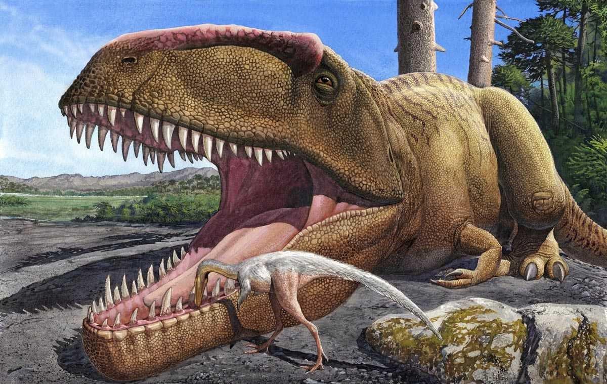 Dinosaurus Paling Mematikan Dalam Era Mesozoikum